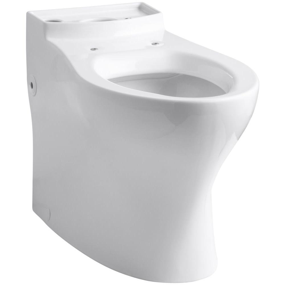 Persuade Comfort Height Elongated Toilet Bowl Only in White