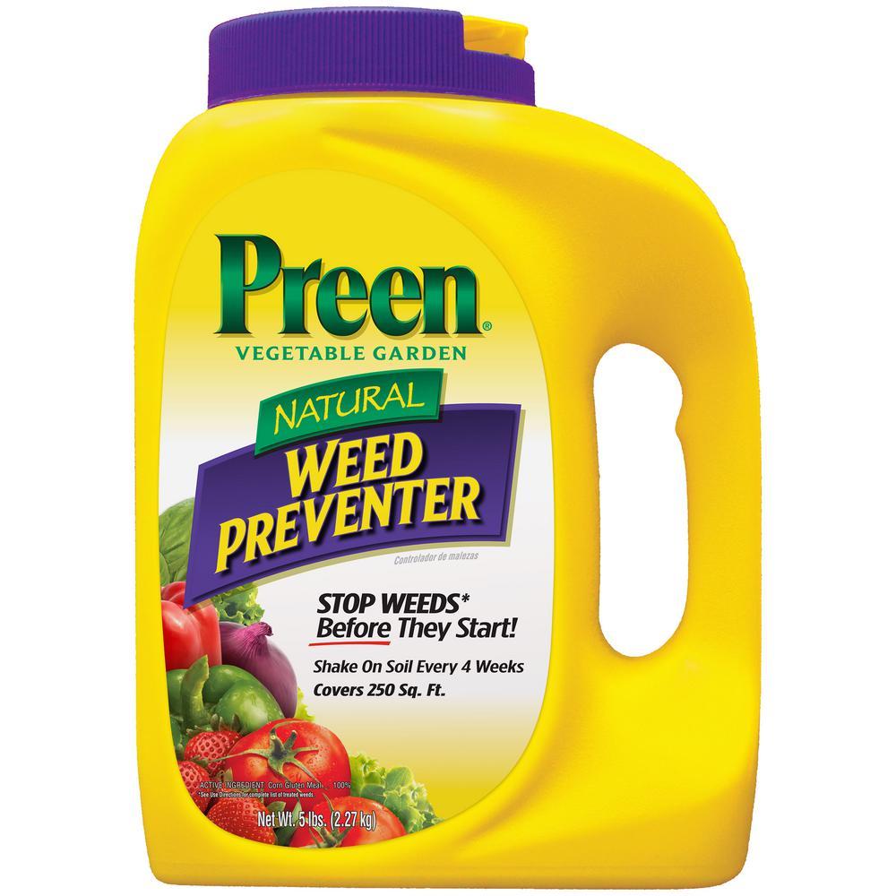 5 lbs. Natural Vegetable Garden Weed Preventer