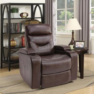 Relax A Lounger Springfield Java Recliner Chair With Led Cup
