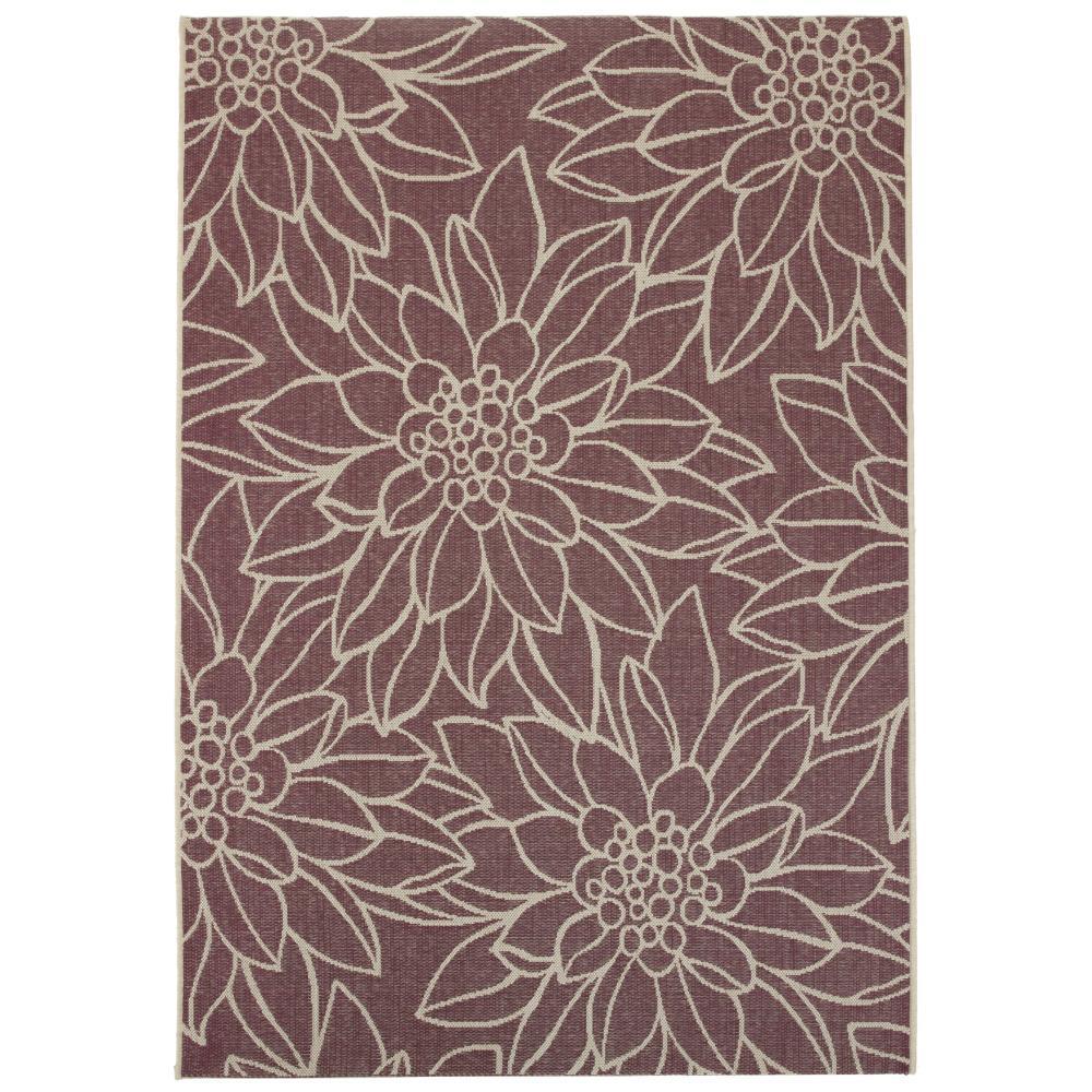 Home decorators collection elsie plum 7 ft 6 in x 10 ft for Home decorators indoor outdoor rugs