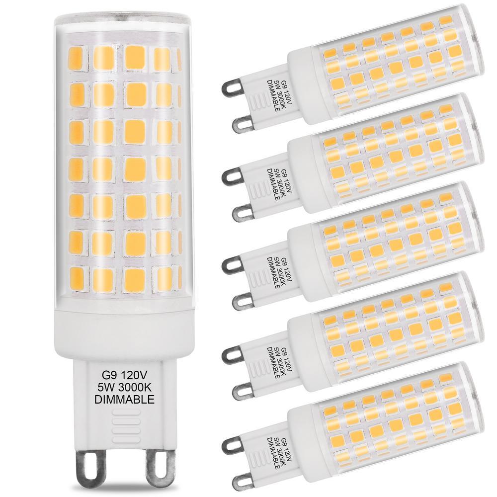 G9 Led Light Bulbs Light Bulbs The Home Depot