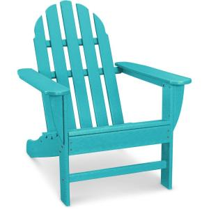 Hanover Classic All Weather Plastic Adirondack Chair In