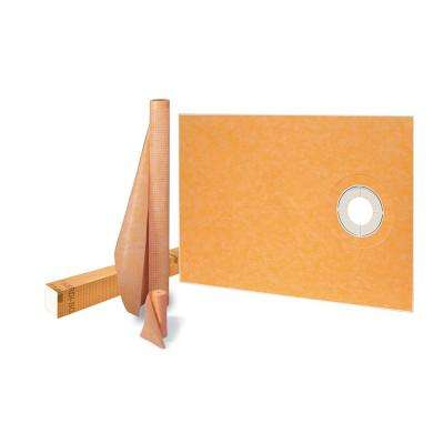 Kerdi-Shower-Kit 38 in. x 60 in. Off-Center Shower Kit without Drain