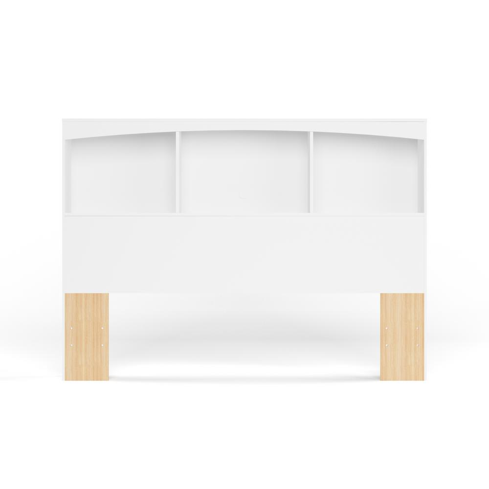 South Shore Step One Pure White Full Headboard