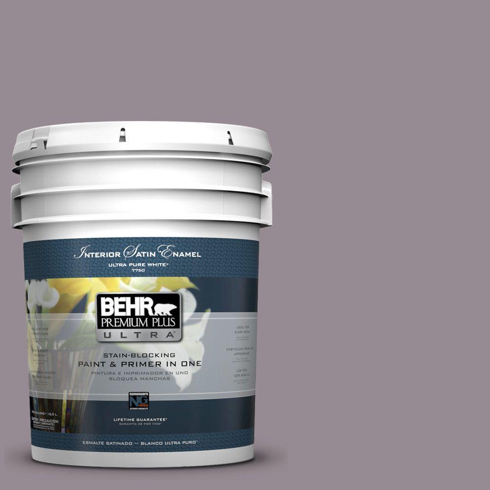 BEHR Premium Plus Ultra 5-gal. #UL250-6 Contessa Satin Enamel Interior Paint