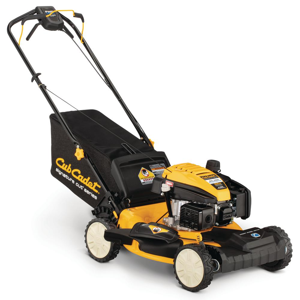 Cub Cadet 21 in. 159cc Front-Wheel Drive 3-in-1 Gas Self Propelled Walk Behind Lawn Mower