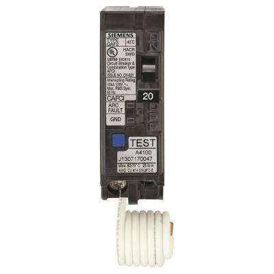 20 Amp 1 in. Single-Pole Combination AFCI Circuit Breaker