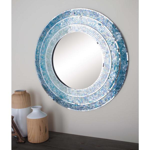 Blue Wall Mirrors