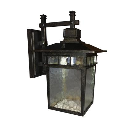 Cullen 1-Light Oil-Rubbed Bronze Outdoor Wall Lantern Sconce