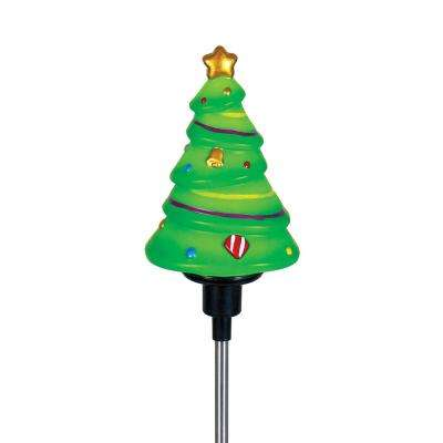 30 in. Rotating Christmas Tree Stake