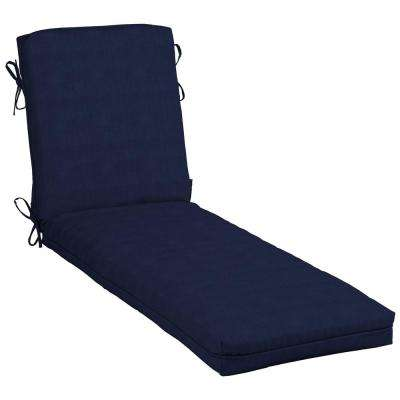 CushionGuard Midnight Outdoor Chaise Lounge Cushion