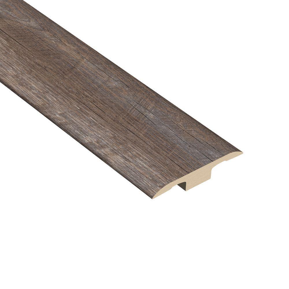 Windsong Oak 1/4 in. Thick x 1-7/16 in. Wide x 94 in. Length Vinyl T-Molding