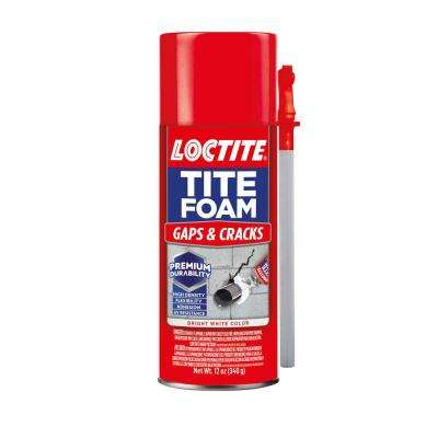 TITE FOAM Gaps and Cracks 12 fl. oz. Insulating Foam (12-Pack)