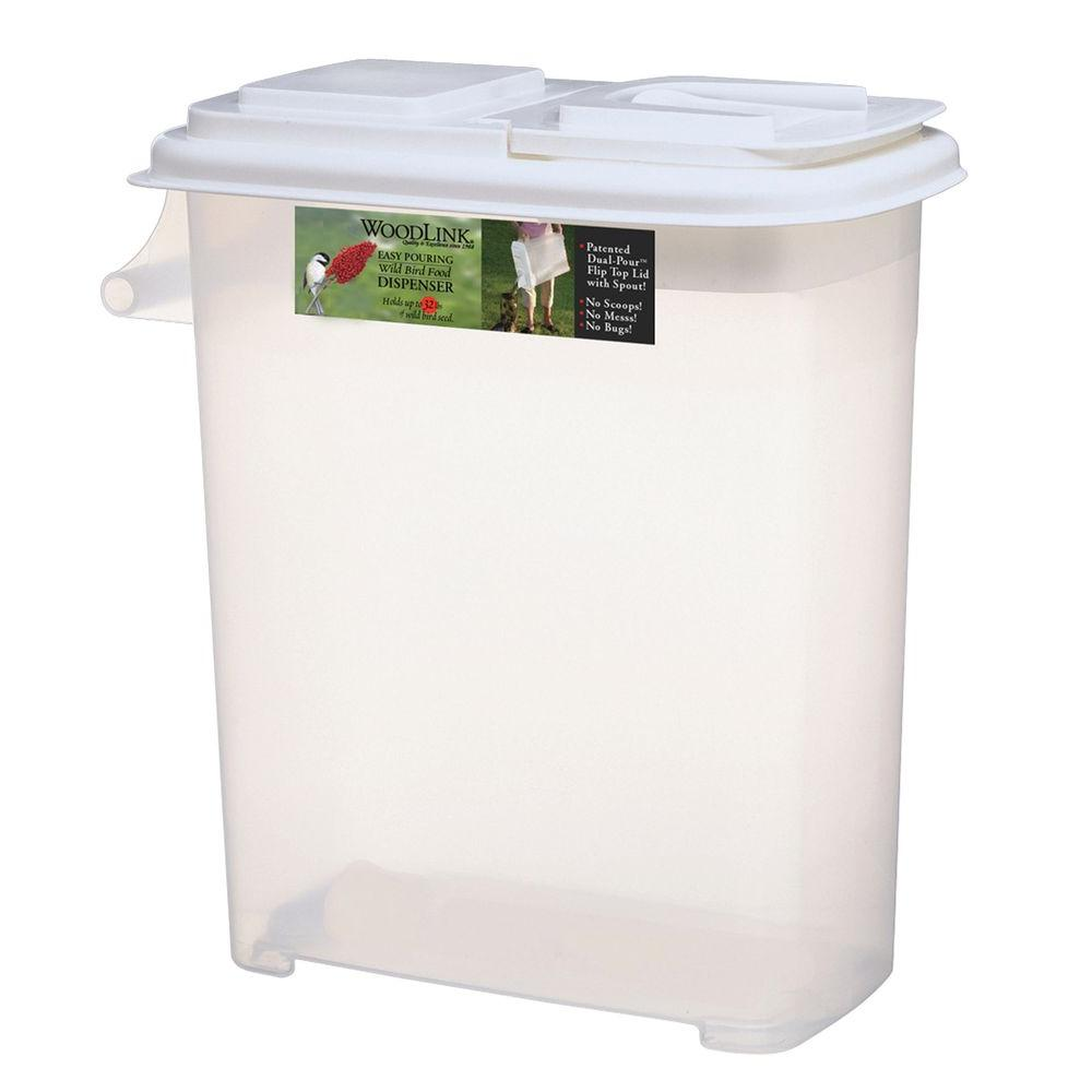 Woodlink 32 Quart Dual-Pour Seed Container