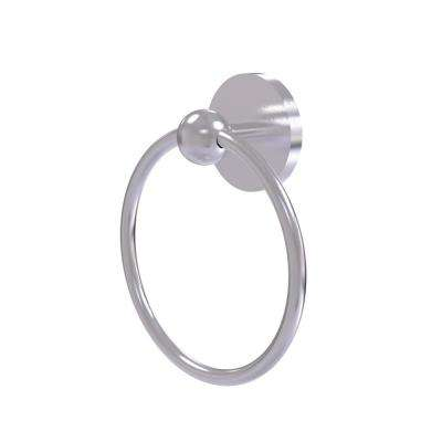 Skyline Collection Towel Ring in Satin Chrome