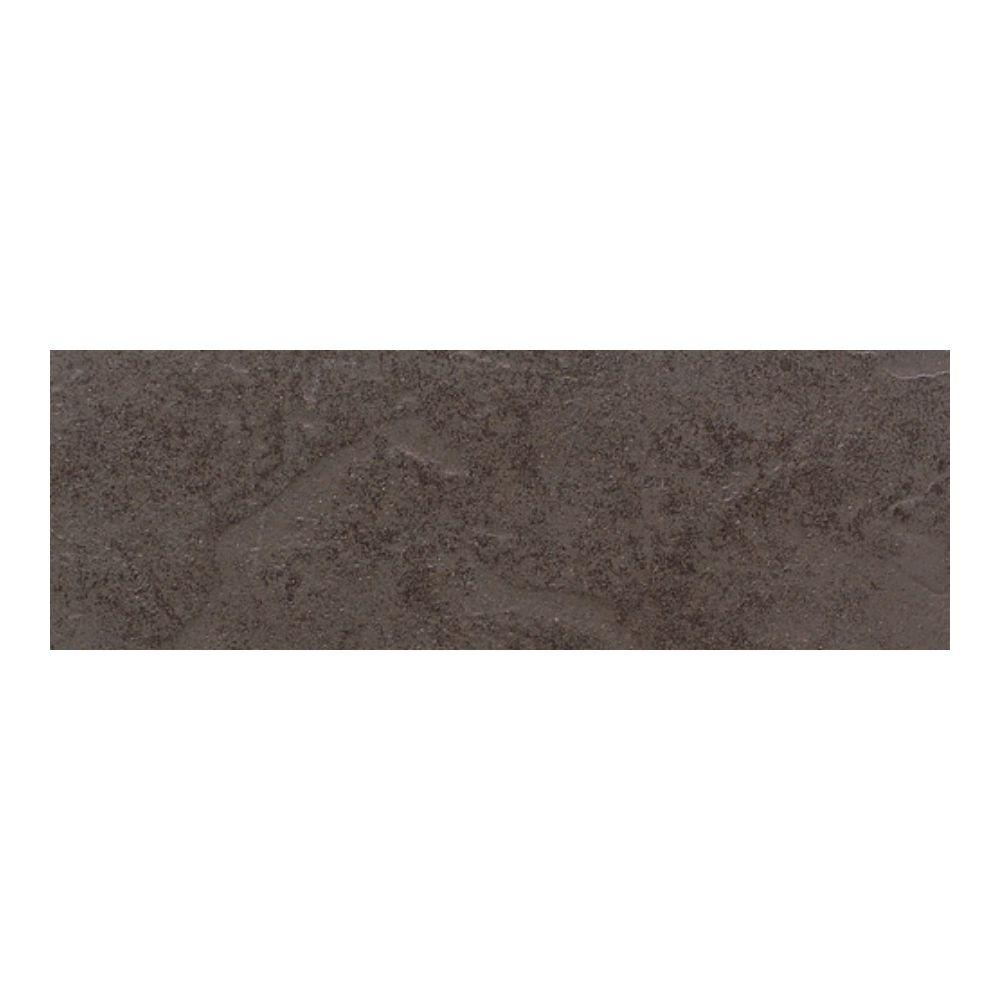 Daltile Cliff Pointe Earth 3 in. x 12 in. Porcelain Bullnose Floor and Wall Tile