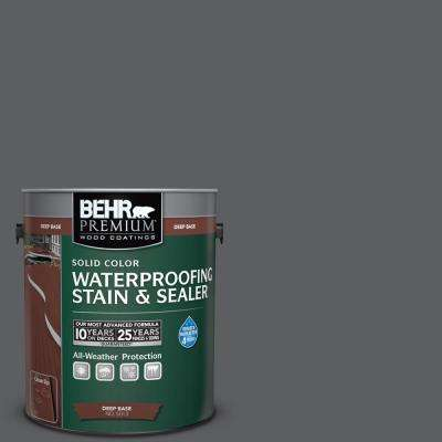 1 gal. #N500-6 Graphic Charcoal Solid Waterproofing Stain and Sealer