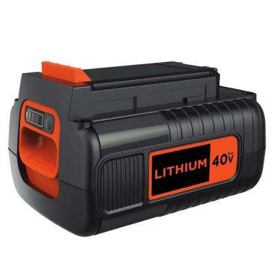 40-Volt MAX Lithium-Ion Battery Pack 1.5Ah