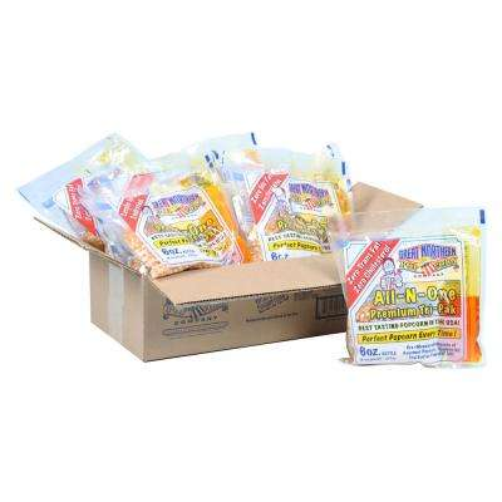 6 oz. Popcorn Portion Packs (12-Pack)