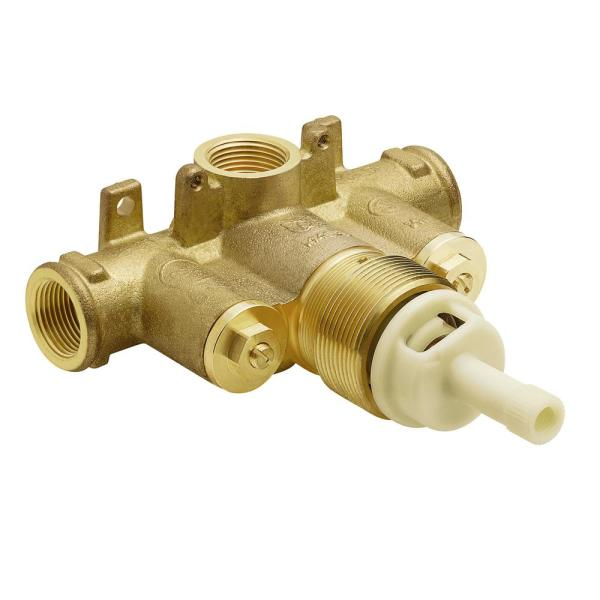 ExactTemp 3/4 in. Brass IPS Connection Includes Check Stops