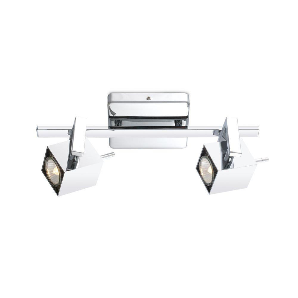 Manao 2-Light Chrome Track Light