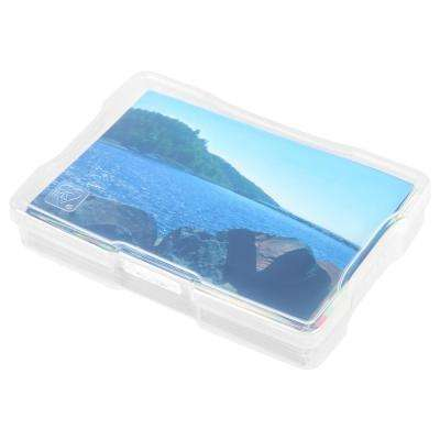 4 in. x 6 in. Photo and Craft Case, Clear