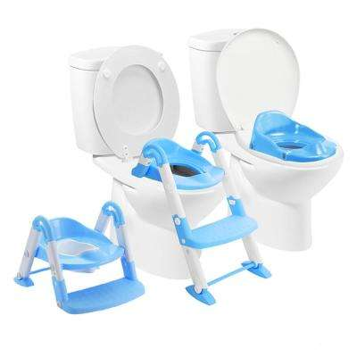 Bambino Booster 3 in 1 Toilet Stool in Blue