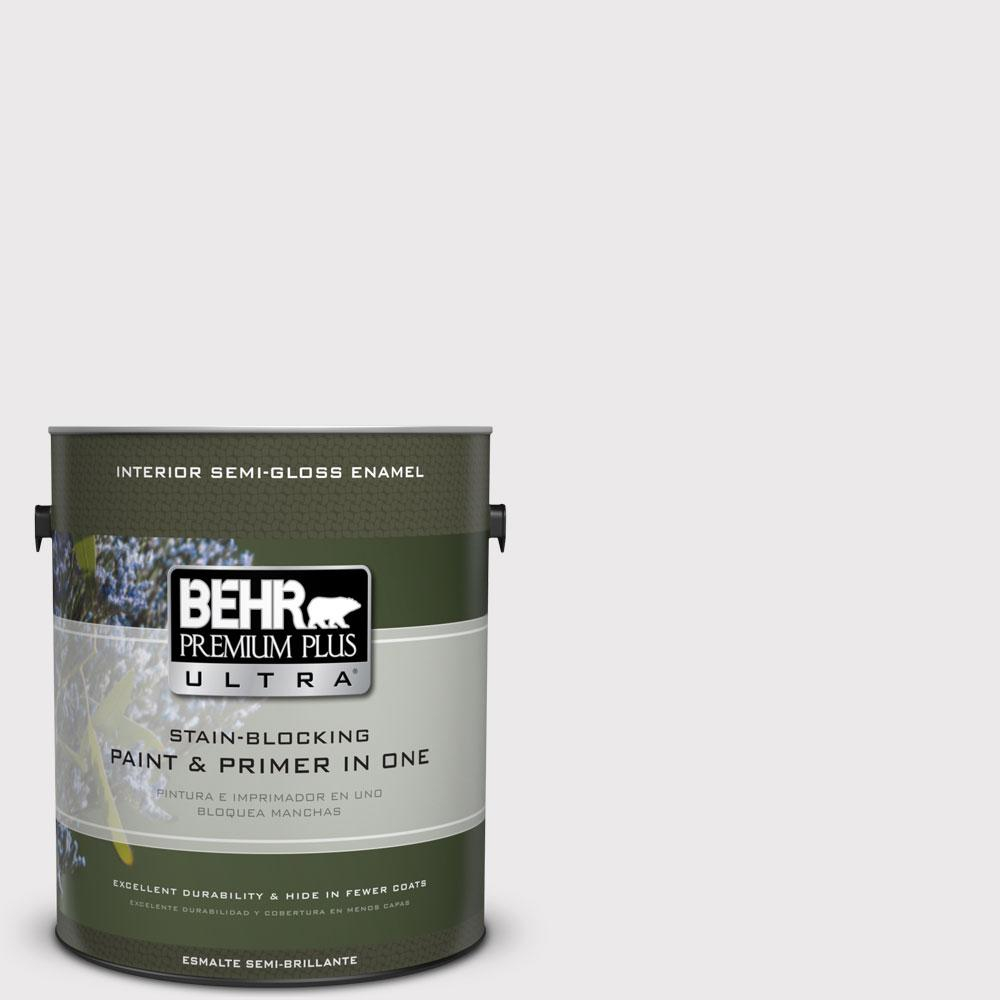 BEHR Premium Plus Ultra 1-gal. #670E-1 Timeless Day Semi-Gloss Enamel Interior Paint