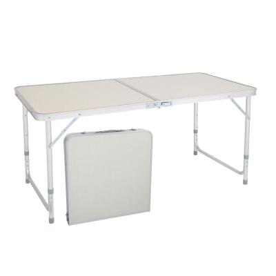 28 in. H Rectangle Plastic Folding Portable Outdoor Picnic Table
