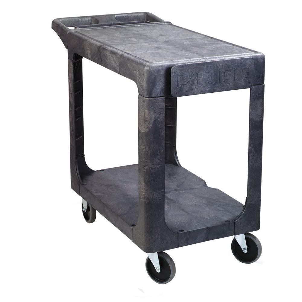 Small Gray Utility Cart