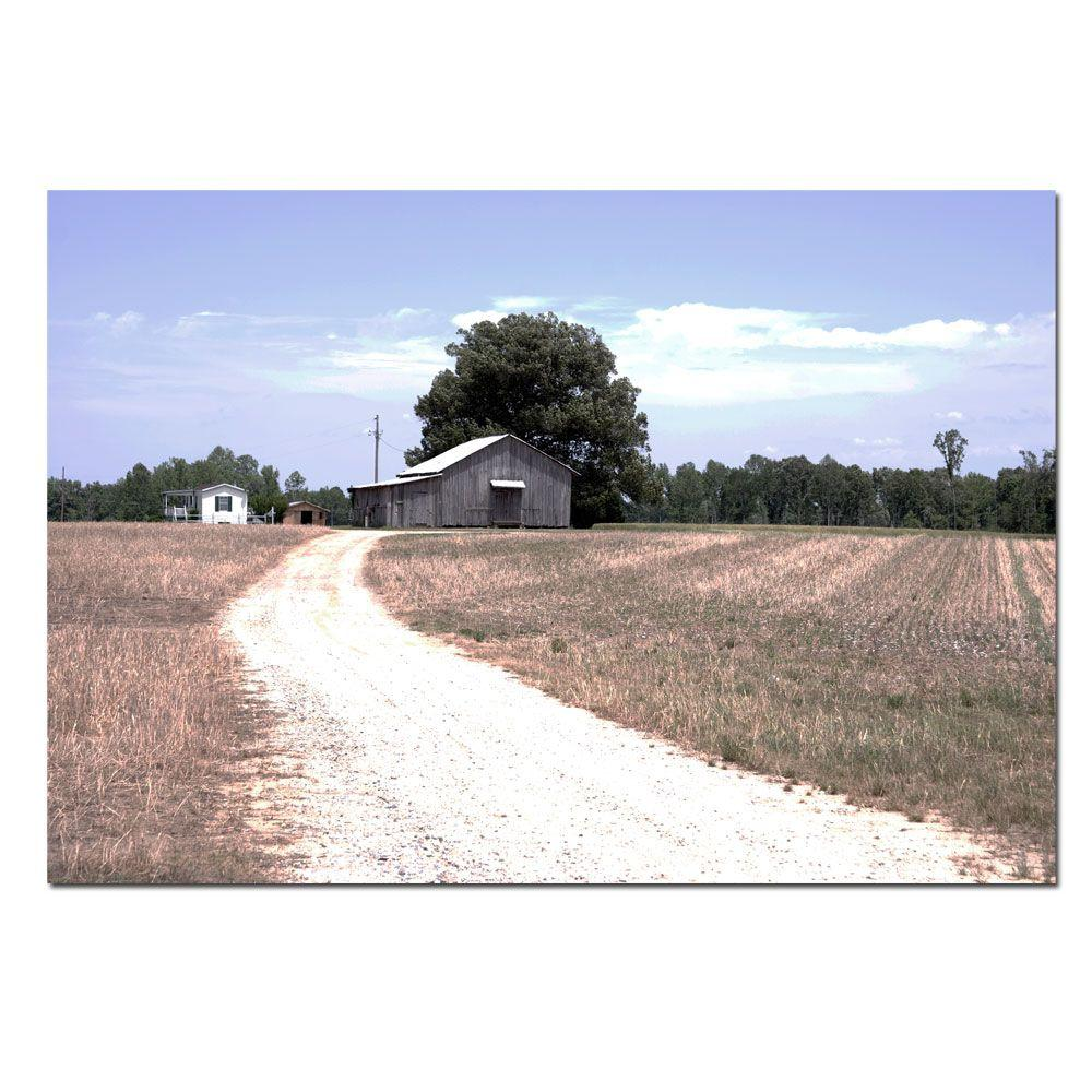 16 in. x 24 in. The Farm Canvas Art