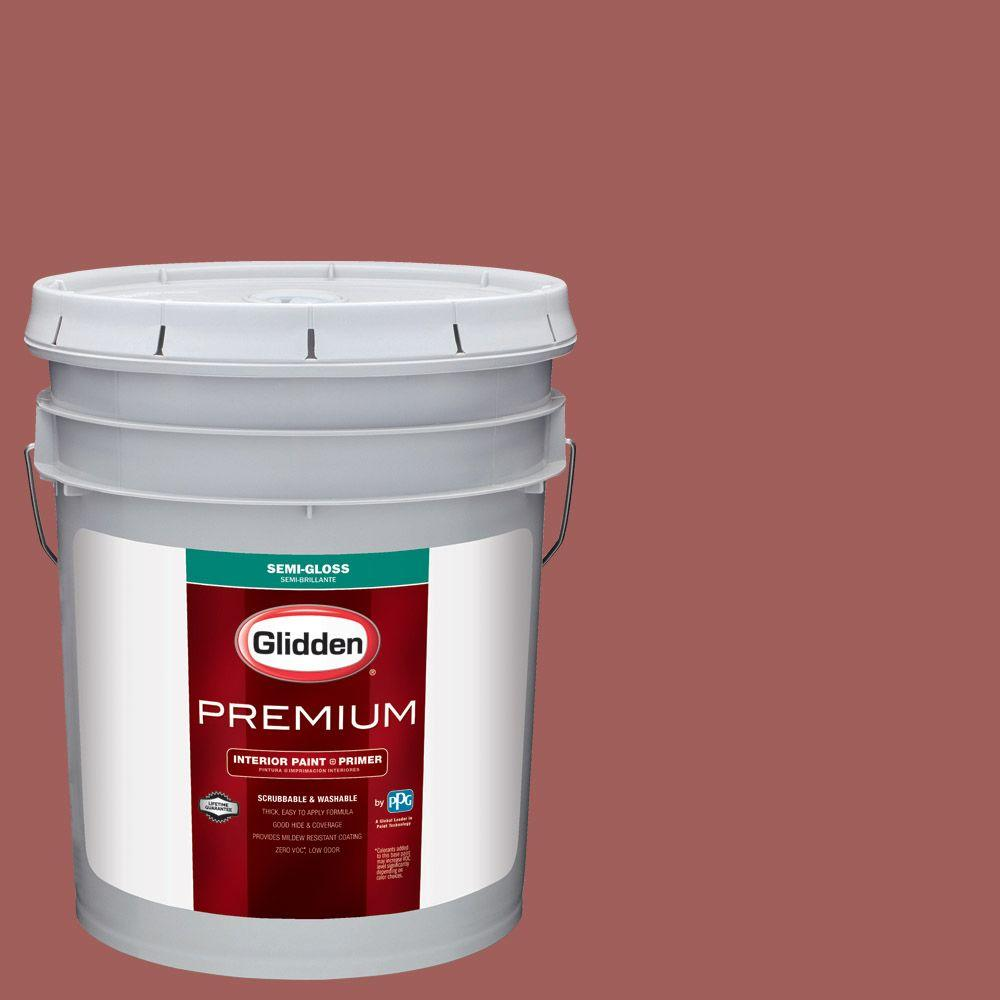 Hdgr64u Country Baked Beans Semi Gloss Interior Paint With Primer