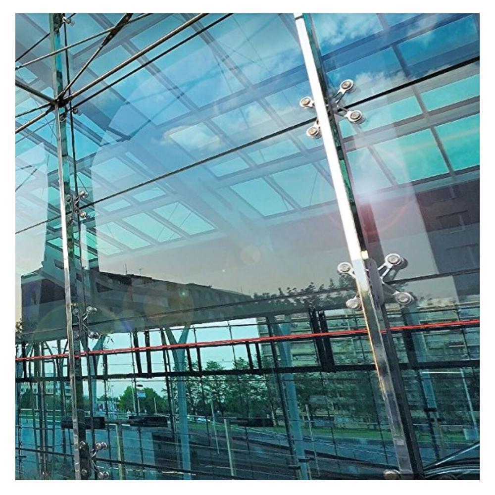 60 in. x 50 ft. S60 Heat Rejection & UV Cut Silver 60 Window Film