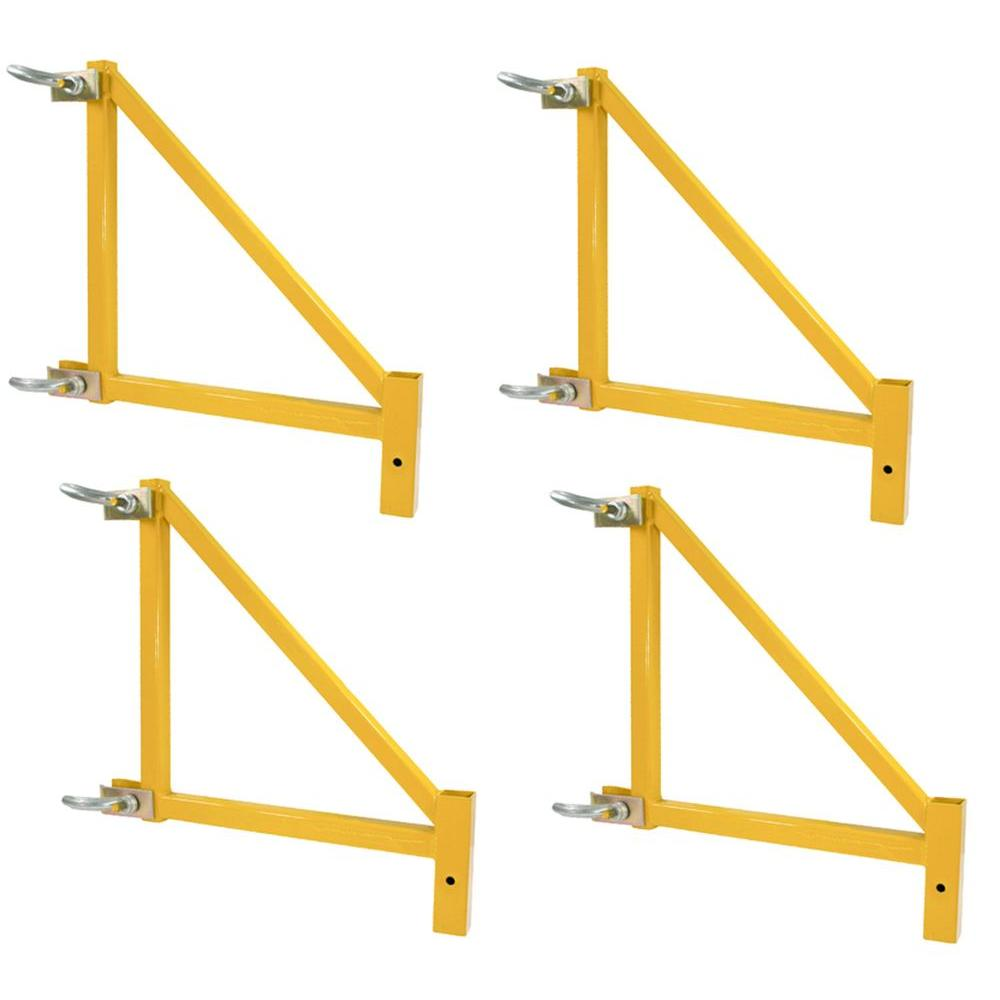 PRO-SERIES 18 in. Outriggers for Scaffolding 1000 lb. Load Capacity (4-Pack)