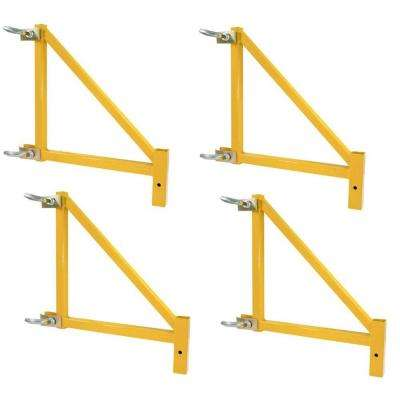 18 in. Outriggers for Scaffolding 1000 lb. Load Capacity (4-Pack)
