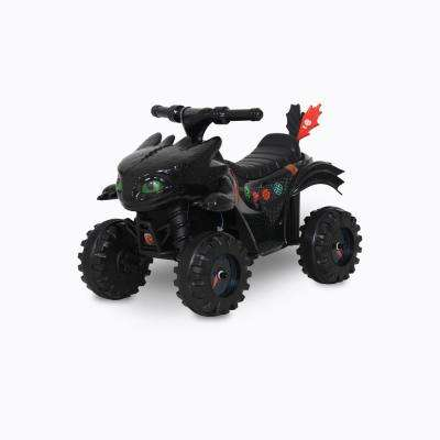 6-Volt How to Train Your Dragon Battery Ride-On Vehicle in Black