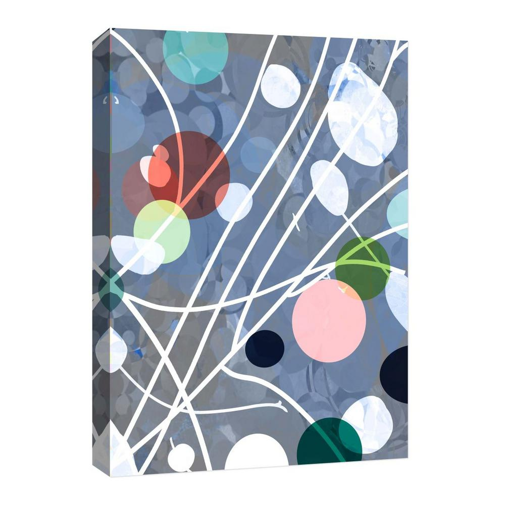 PTM Images 10''Colorful Spots'' Canvas Wall Art, Multicolored was $55.99 now $27.73 (50.0% off)