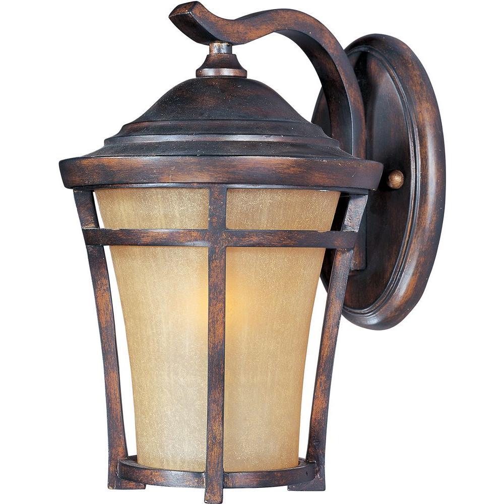 Balboa Vivex Energy Efficient Copper Oxide 1-Light Outdoor Wall Lantern Sconce
