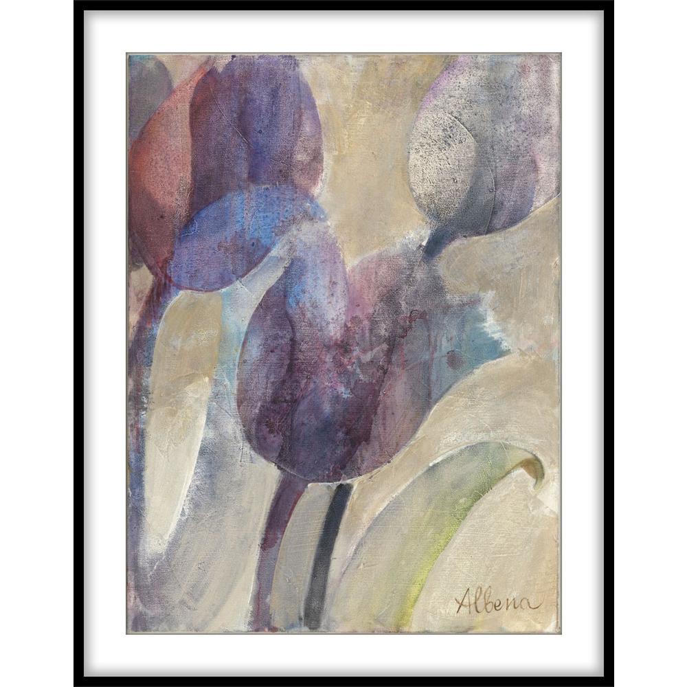 """9.75 in. x11.75 in. """"Purple Dream I""""Framed Wall Art"""