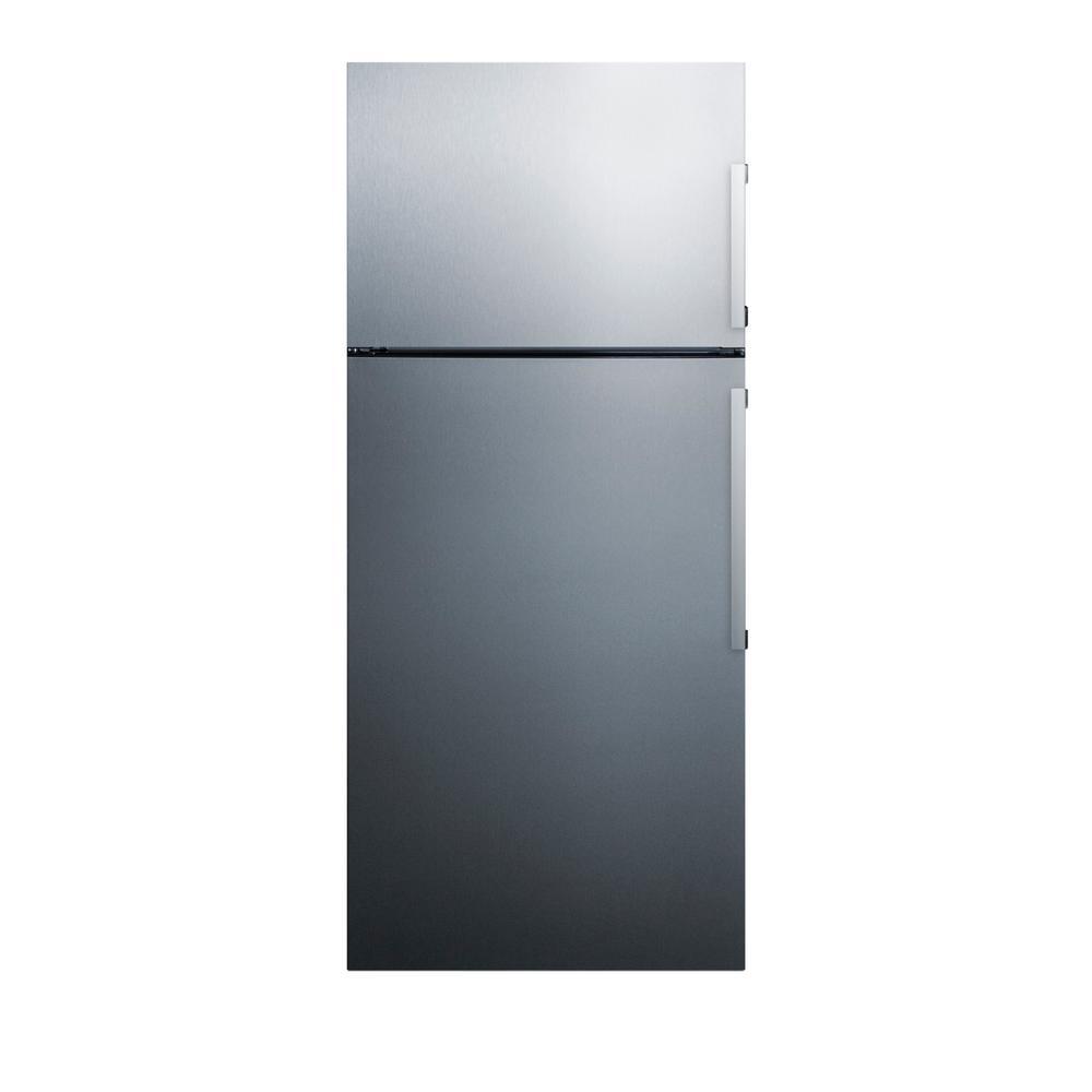 Summit Appliance 27 in. 12.6 cu. ft. Top Freezer Refrigerator in ...