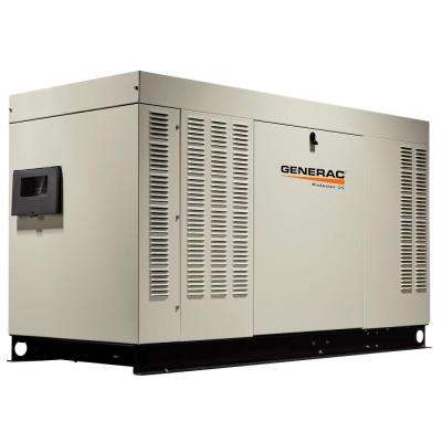 48,000-Watt 120-Volt/240-Volt Liquid Cooled Standby Generator Single Phase with Aluminum Enclosure