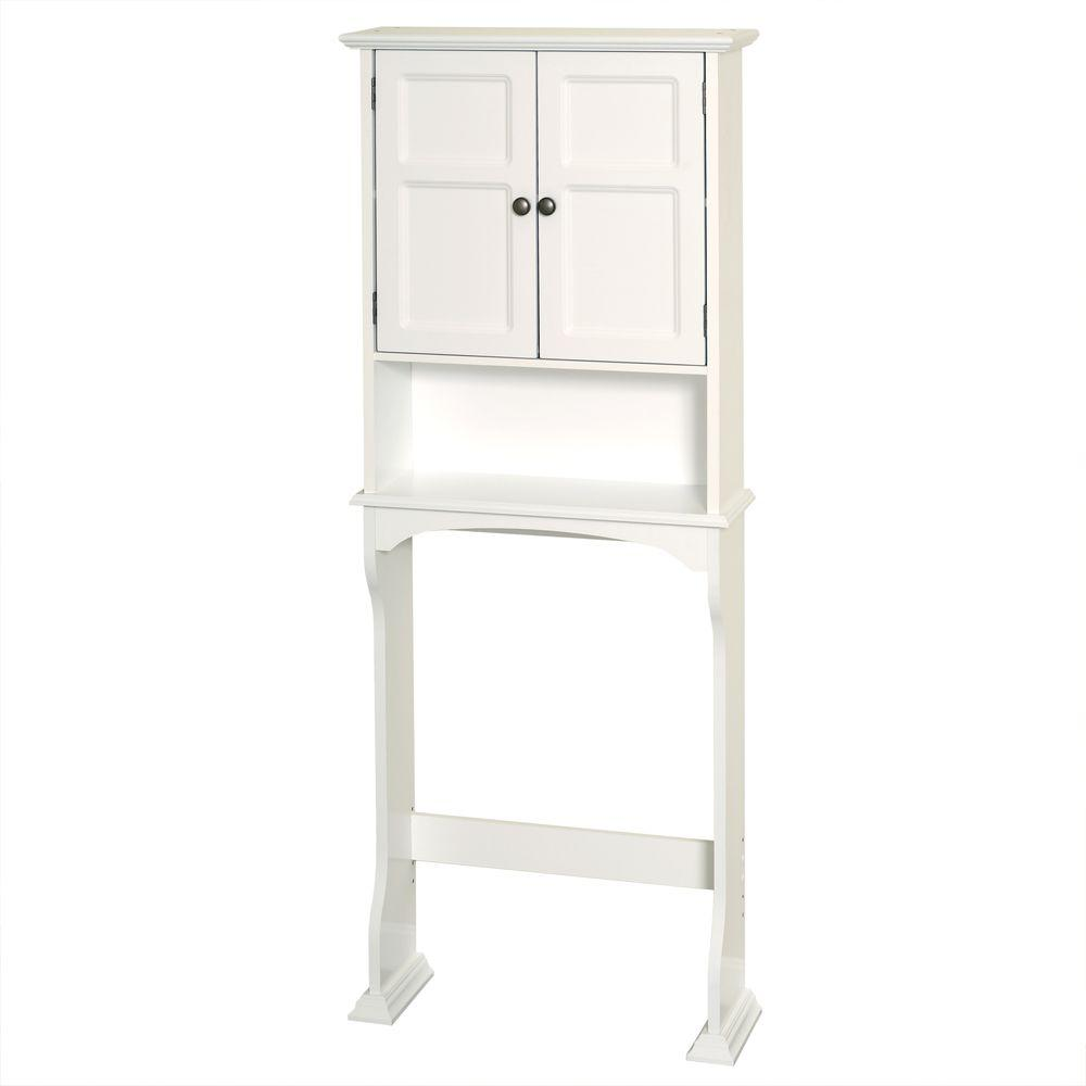 D Over-  sc 1 st  The Home Depot & Over-the-Toilet Storage - Bathroom Cabinets u0026 Storage - The Home Depot