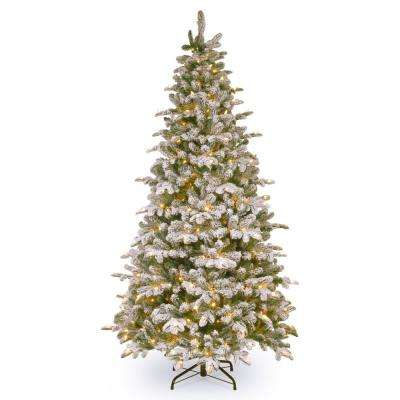 6-1/2 ft. Feel Real Everest Fir Medium Hinged Tree with 350 Clear Lights