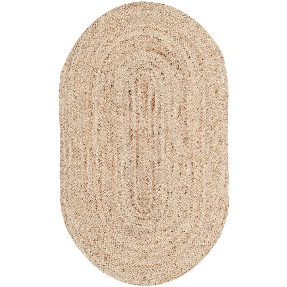 Safavieh Cape Cod Natural 3 Ft. X 5 Ft. Oval Area Rug