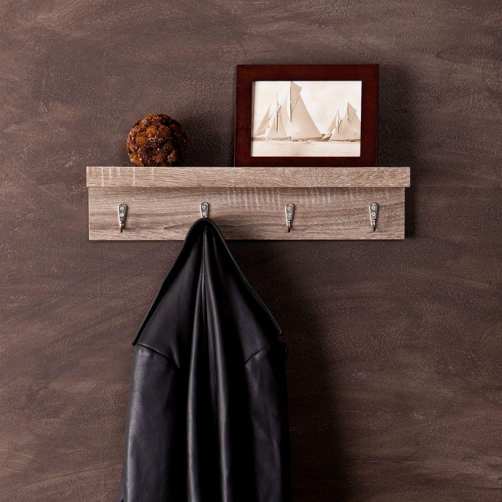 Lewis Hyman Oak Yorkshire Wall Mounted Coat Rack 0199230
