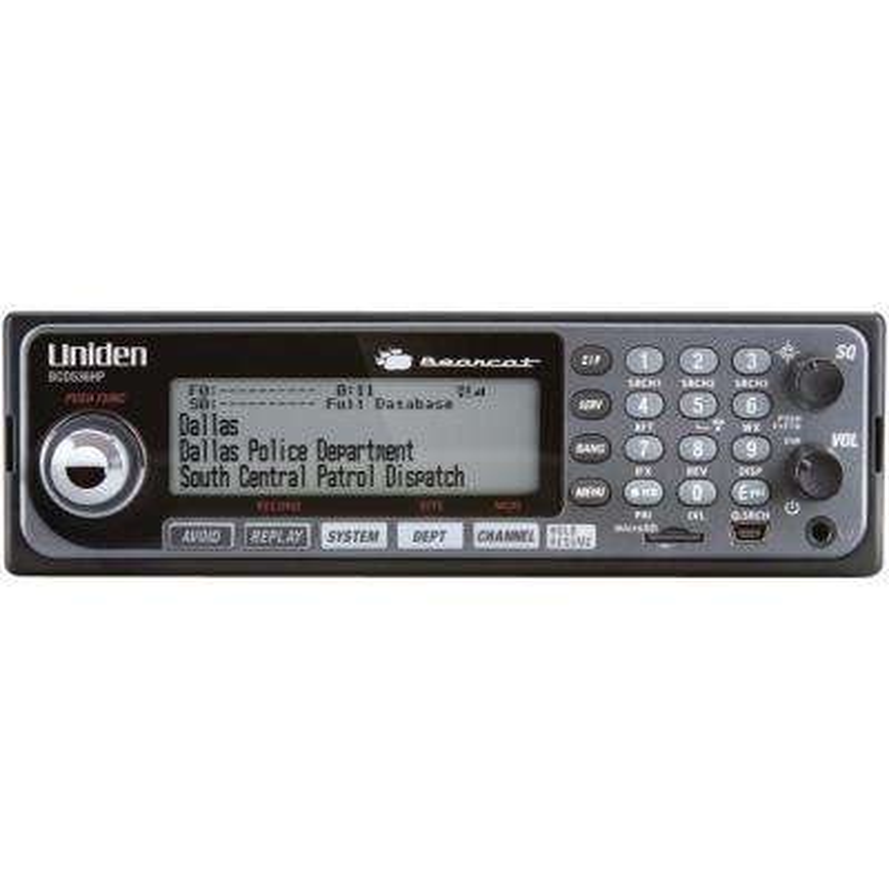 Bearcat Digital Base/Mobile Scanner