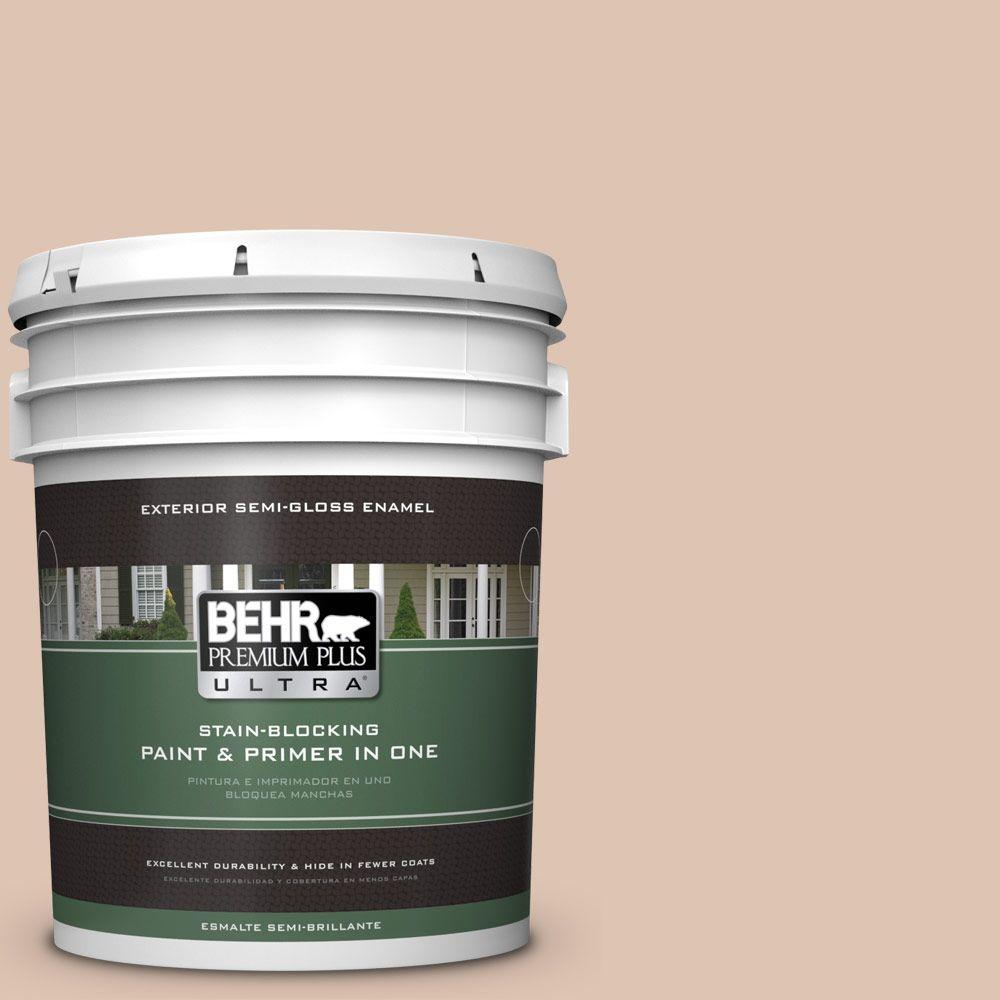 5-gal. #280E-2 Arabian Sands Semi-Gloss Enamel Exterior Paint