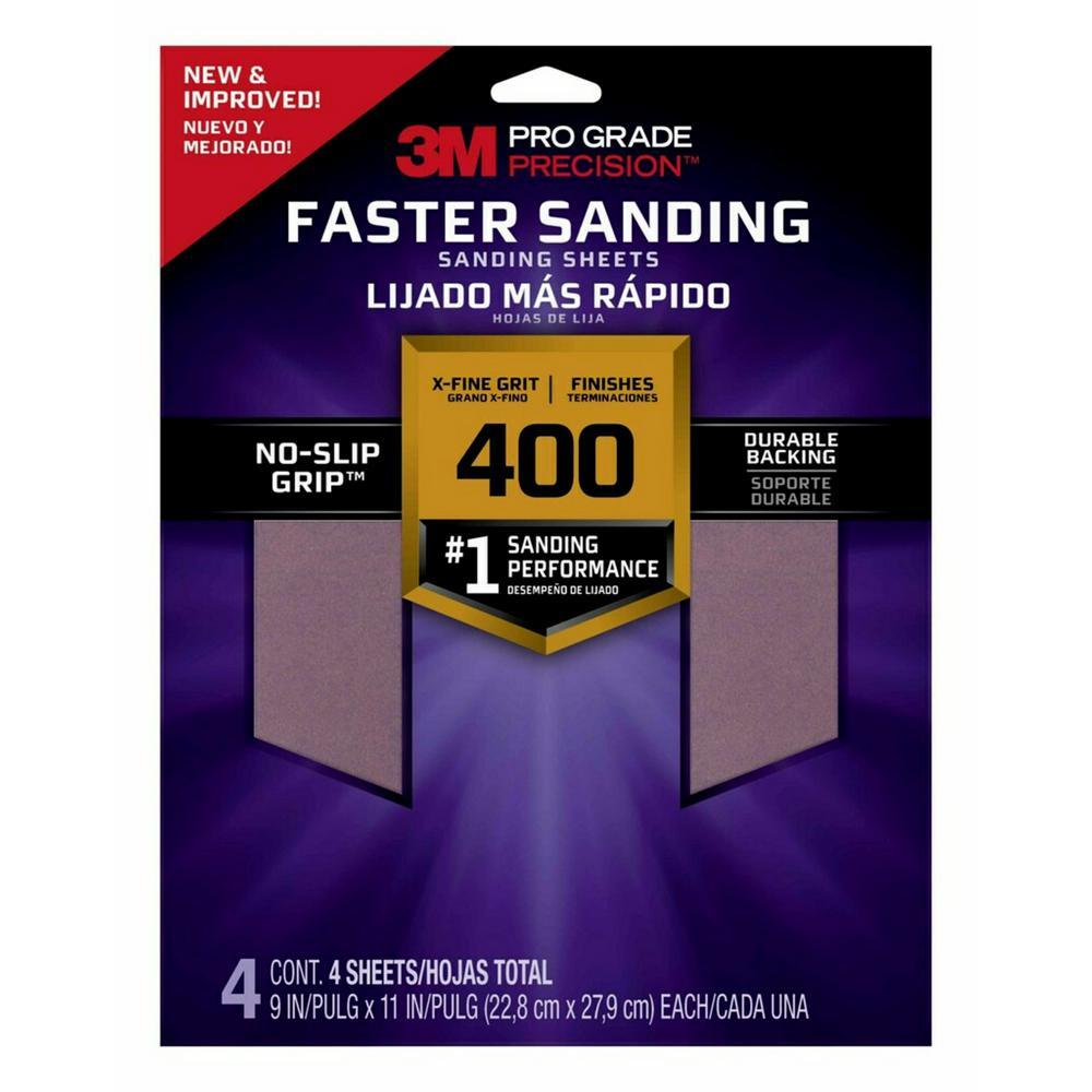 400 Sandpaper Sandpaper Patching Repair The Home Depot