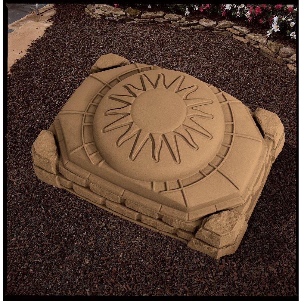 Step 2 Nat Playful 32 In. X 3.7 Ft. X 1.3 Ft. Sandbox