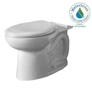 American Standard Cadet 3 FloWise Elongated Toilet Bowl Only in White by American Standard